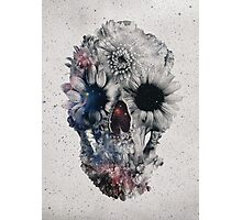 Floral Skull 2 Photographic Print