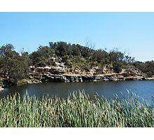 Green Lake, Yamba, Australia. Photographic Print