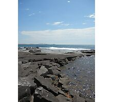 Rocks near the Blue Photographic Print