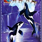 Orca Christmas  by Lotacats