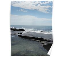 Calm Surf Rock Pool Poster