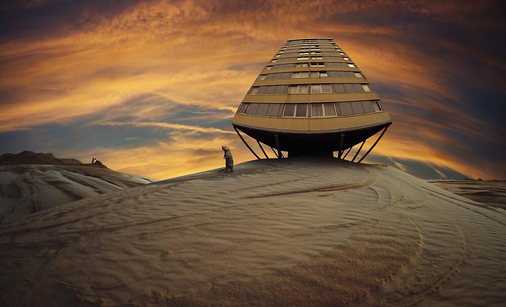 around the corner by Simon Siwak
