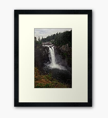Snoqualmie Falls, Washington State, USA Framed Print