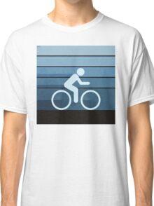 Biking Blue Classic T-Shirt