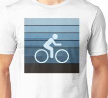 Biking Blue Unisex T-Shirt