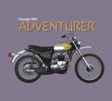 Triumph TR5T Adventurer by Tony  Newland