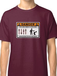 Danger - Stay away from my Sound Desk Classic T-Shirt