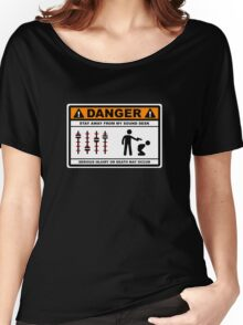 Danger - Stay away from my Sound Desk Women's Relaxed Fit T-Shirt