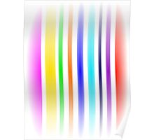 Stripes Art Airy Poster