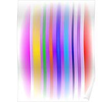 Stripes Art Mist Poster