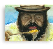 Bud Spencer & Beans Canvas Print