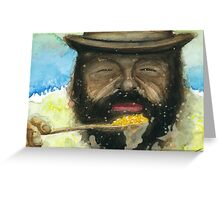 Bud Spencer & Beans Greeting Card