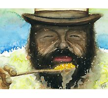 Bud Spencer & Beans Photographic Print