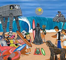 Surf Wars by Gerard Kearney