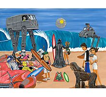 Surf Wars Photographic Print