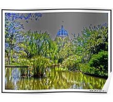 Royal Exhibition Garden, Melbourne Poster