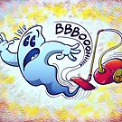 Ghost Vacuum Cleaner Nightmare by Zoo-co