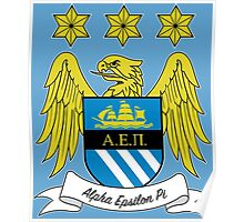 AEPi Manchester City FC Poster