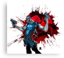 Punished Canvas Print