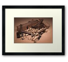 The Cabinet Maker Framed Print