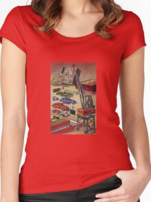 Vintage toys Women's Fitted Scoop T-Shirt