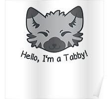 Hello, I'm a Tabby! Poster