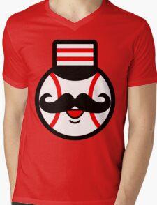 Cincinnati Redlegs Mens V-Neck T-Shirt