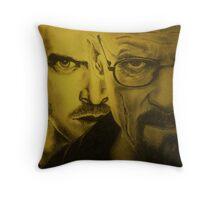 bad breaking Throw Pillow