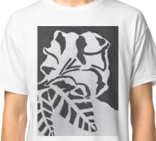 Monochrome flower Classic T-Shirt