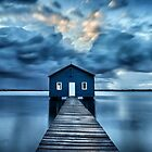 A Little Blue Boatshed by Mieke Boynton