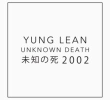 YUNG LEAN: UNKNOWN DEATH 2002 by pbwlf