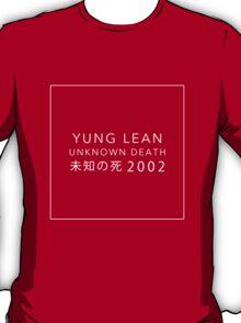 YUNG LEAN: UNKNOWN DEATH 2002 (BLACK) T-Shirt