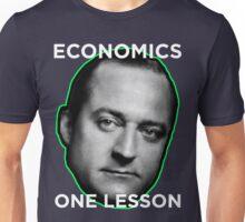 Henry Hazlitt Economics in One Lesson Unisex T-Shirt