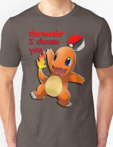 Charmander, I choose you!  T-Shirt