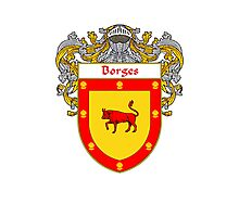 Borges Coat of Arms/Family Crest Photographic Print