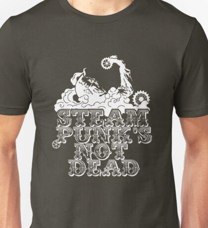 steampunk's not dead (white) Unisex T-Shirt