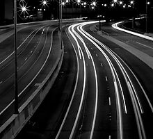 Freeway Streaming Lights by dioptrewho