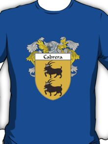 Cabrera Coat of Arms/Family Crest T-Shirt