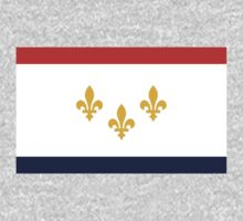 New Orleans, Louisiana Flag by cadellin