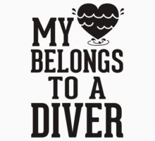 My Heart Belongs To A Diver by Look Human