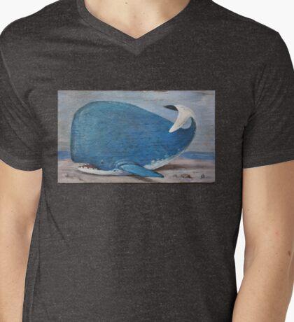 """Beached but not Battered"" Mens V-Neck T-Shirt"