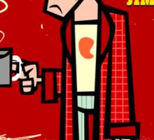 Jimmie boy Sticker