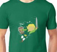 Splattery Link Wind Waker Design Unisex T-Shirt