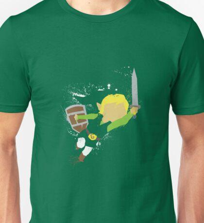 Splattery Link Wind Waker Design T-Shirt