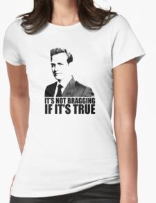 Suits Harvey Specter It's Not Bragging Tshirt Womens Fitted T-Shirt