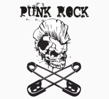 Punk Rock - Skull N Pins by Immortalized