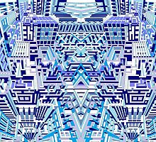 Deep Blue One by AndyWorthyArt