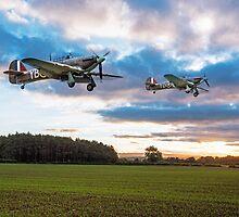 17 Squadron Scramble by J Biggadike