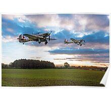 17 Squadron Scramble Poster