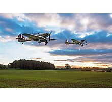 17 Squadron Scramble Photographic Print